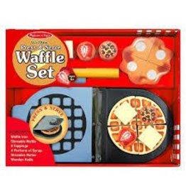 Melissa and Doug Melissa and Doug Press N Serve Pretend and Play Waffle Maker