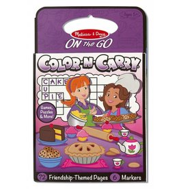 Melissa and Doug DNR Melissa and Doug Color and Carry Coloring Book Friendship