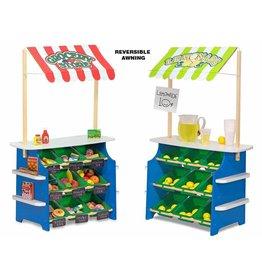 Melissa and Doug DNR Melissa and Doug Grocery Store and Lemonade Stand Pretend and Play Set
