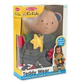 Melissa and Doug Melissa and Doug Ks Kids Teddy Wear Plush