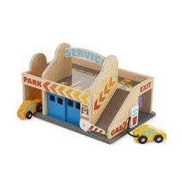 Melissa and Doug Melissa and Doug Service Station Parking Garage