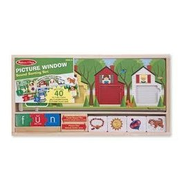 Melissa and Doug DNR Melissa and Doug Picture Window Sound Sorting Set