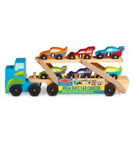 Melissa and Doug Melissa and Doug Mega Race Car Carrier 2015