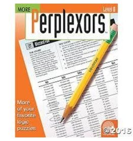 MindWare Mindware More Perplexors Level D Logic Puzzle Book