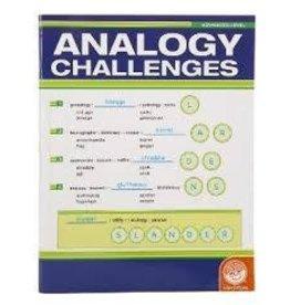 MindWare MindWare Analogy Challenges Activity Book Advanced Level 50 Analogy Puzzles