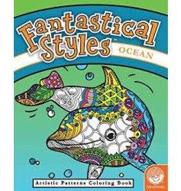 MindWare Mindware Fantastical Styles Ocean Coloring Book
