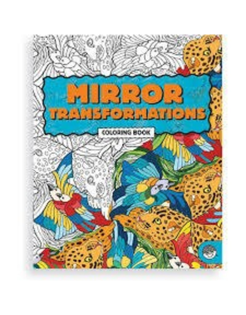 mindware mirror transformations coloring book - Mindware Coloring Books