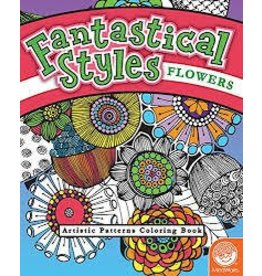 MindWare Fantastical Styles Flowers Coloring Book