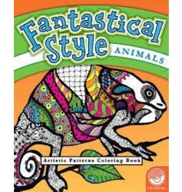 MindWare Fantastical Style Animal Book Coloring Book