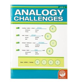 MindWare MIndware Analogy Challenges Level A Activity Book