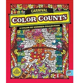 MindWare Mindware Color Counts Carnival Coloring Book