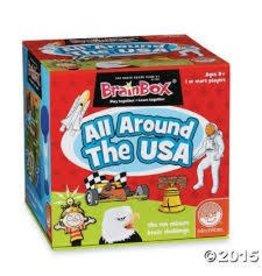 MindWare MindWare Brainbox Educational Game Set Around The USA