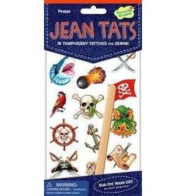 Peaceable Kingdom Peaceable Kingdom Jean Tats Pirates Temporary Tattoos for Fabric
