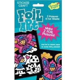 Peaceable Kingdom Peaceable Kingdom Foil Art Fairies Sticker Craft Pack