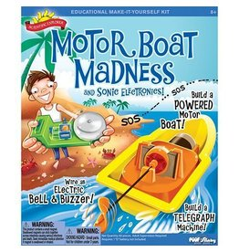 Alex Poof Slinky Scientific Explorer Motor Boat Madness and Sonic Electronics Kit
