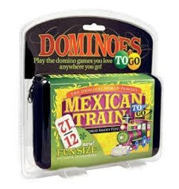 University Games Mexican Train Number Dominoes To Go Game