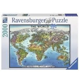 Ravensburger Ravensburger World Map 2000 Piece Puzzle