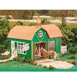 Reeves Breyer Stablemates Riding Academy and Horse Set