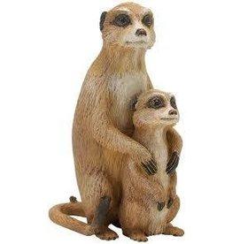 Safari Ltd Safari Ltd Incredible Creatures Meerkat with Baby