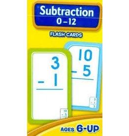 School Zone School Zone Subtraction 0 to 12 Flash Cards
