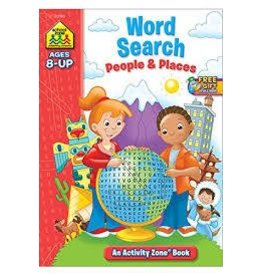 School Zone School Zone Word Searches People and Places
