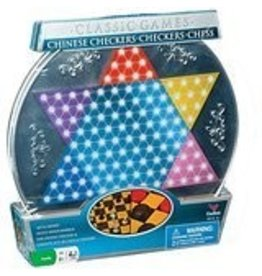 Schylling Toys Schylling Classic Games Tin Chinese Checkers Chess Checkers