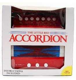 Schylling Toys Schylling Little Red Accordion Classic Kids Toy Musical Instrument