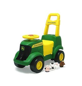 Tomy ERTL John Deere Sit N Scoot Ride On Activity Tractor Push Toy