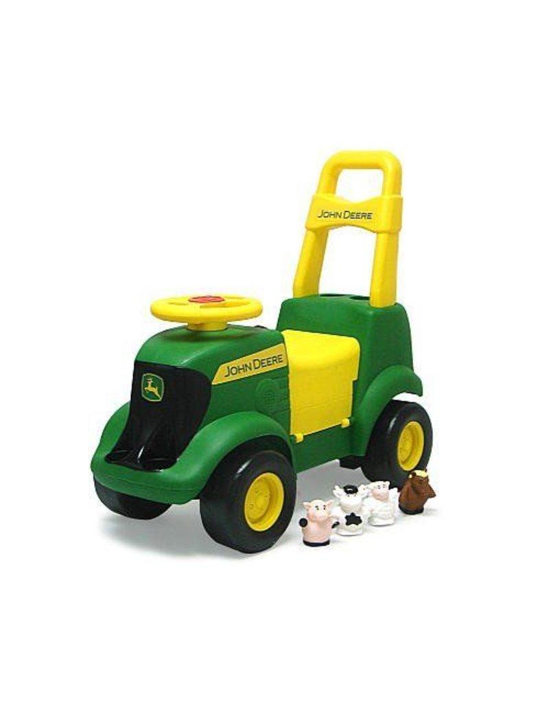 john deere lawn mower toy. tomy ertl john deere sit n scoot ride on activity tractor push toy lawn mower