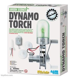 Toysmith 4M Green Science Dynamo Torch