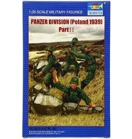 Grant and Bowman Trumpeter Panzer Division Poland 1939 2 Plastic Model Kit