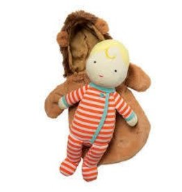 Manhattan Toy Manhattan Toy Snuggle Baby Doll and Hooded Lion Sleep Sack
