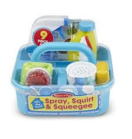 Melissa and Doug Melissa and Doug Lets Play House Spray Squirt and Squeegee Play Set
