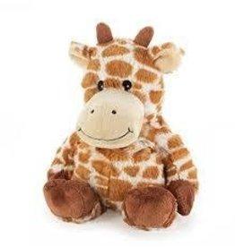 Intelex USA Intelex Cozy Microwavable Heatable Plush Giraffe
