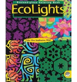 MindWare Ecolights Stained Glass Coloring Book