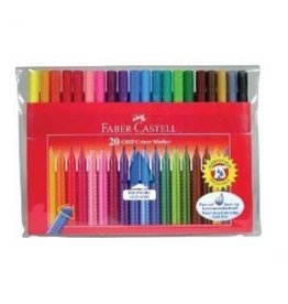 Faber Castell Creativity for Kids Faber Castell 20 ct GRIP Color Markers