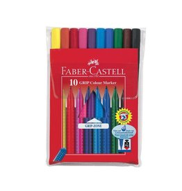 Faber Castell Creativity for Kids Faber Castell 10ct Grip Color Markers