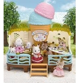 Epoch Everlasting Play DNR Calico Critters Seaside Ice Cream Shop
