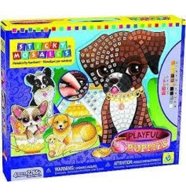 ORB Factory The Orb Factory Sticky Mosaic Playful Puppies DNR