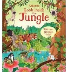 Educational Development Corporation Usborne Look Inside The Jungle Book