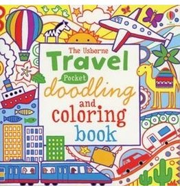 Educational Development Corporation Travel Doodling and Coloring Book