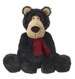 Ganz Jett Black Bear 15inch