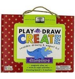 Innovative Kids Play Draw Create Dinosaurs Kit
