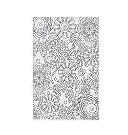 Ganz Wama Post Card Floral Print