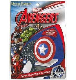 Fascinations Fascinations Metal Earth Captain America Shield Marvel