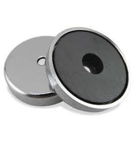 Dowling Magnets Ceramic Disc Magnets 1inch D x 16inch T Set of 8