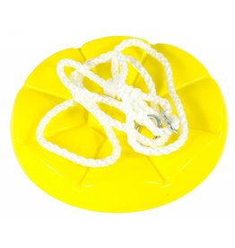 BOM Squirrel Products Disc Seat Swing Yellow