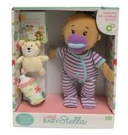 Manhattan Toy Wee Baby Stella Beige Purple Stripes
