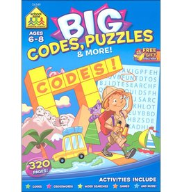School Zone School Zone Big Codes Puzzles and More