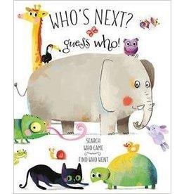 Educational Development Corporation DNR Usborne Whos Next Guess Who Book